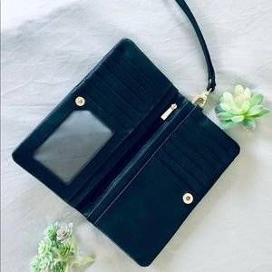 Handbags - Black wristlet wallet